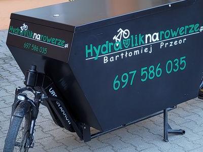 hydraulika reklama naklejana na powierzchnie