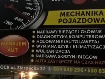 mechanika pojazdowa banner reklama naklejana